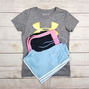 UNDER ARMOUR & ADIDAS WOMENS EXTRA SMALL LOT